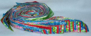 Locker Hook fabric strips