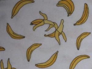 Flannel Bananas Cream 15072 11F