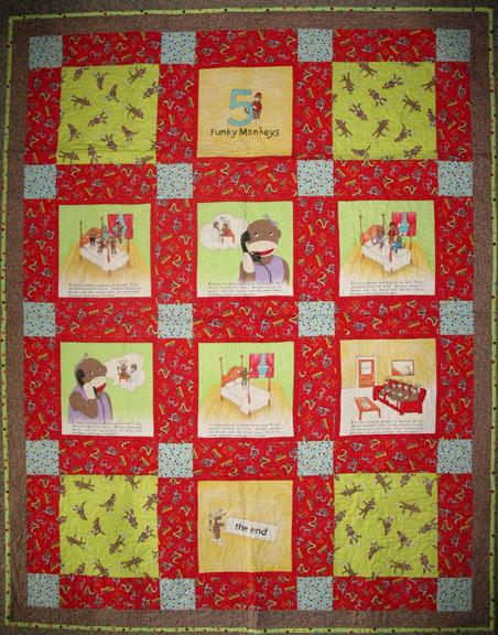 funky monkey fabric: