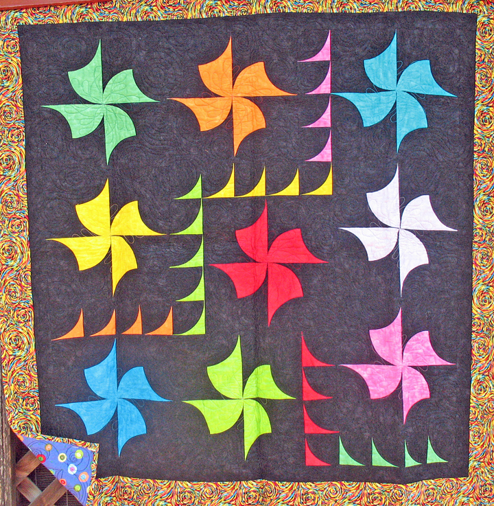 Quilts for Sale Pinwheels