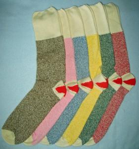Sock Monkeys, Sock Friends and Inside Out Baskets - Admit One Fabrics