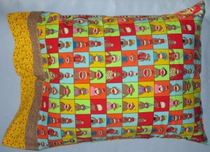 Flannel Pillow Case - color mixed