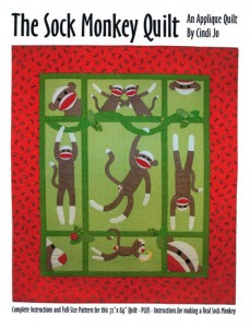 The Sock Monkey Quilt Book