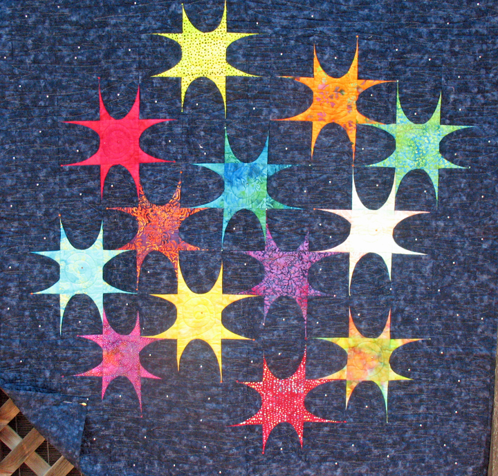 Quilts for Sale Ellipse Stars