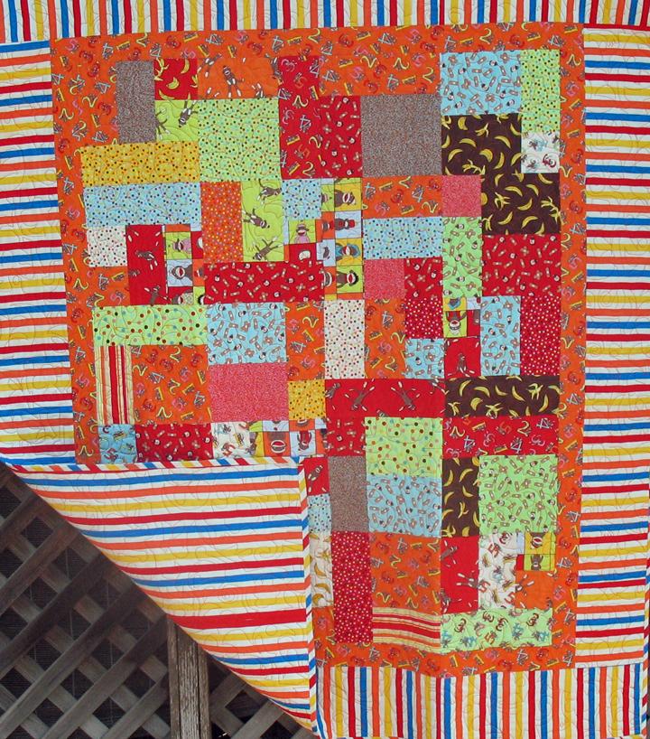 Stripe Baby Quilt