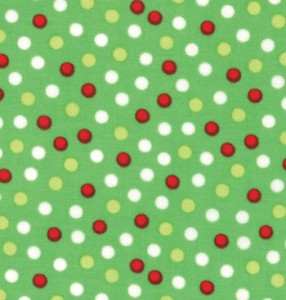 Santas Helpers Fabric Green 15073 23