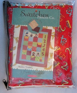 Monkey Trouble Quilt Kit